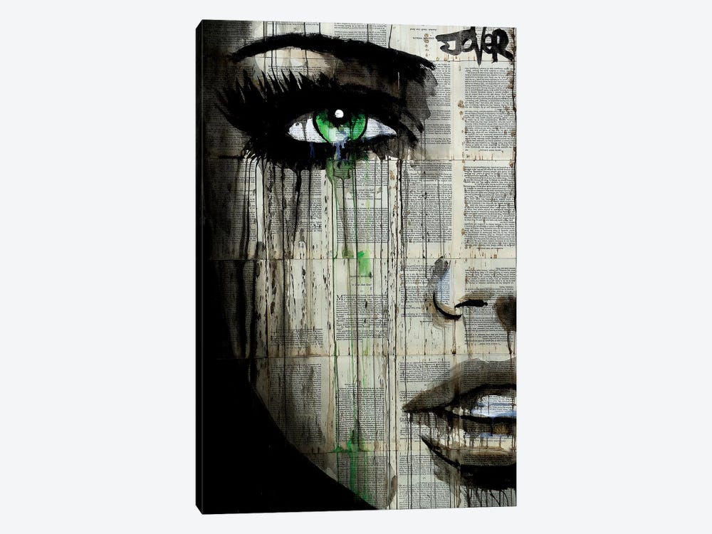 Chapter by Loui Jover 1-piece Canvas Print