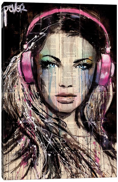 DJ Canvas Art Print
