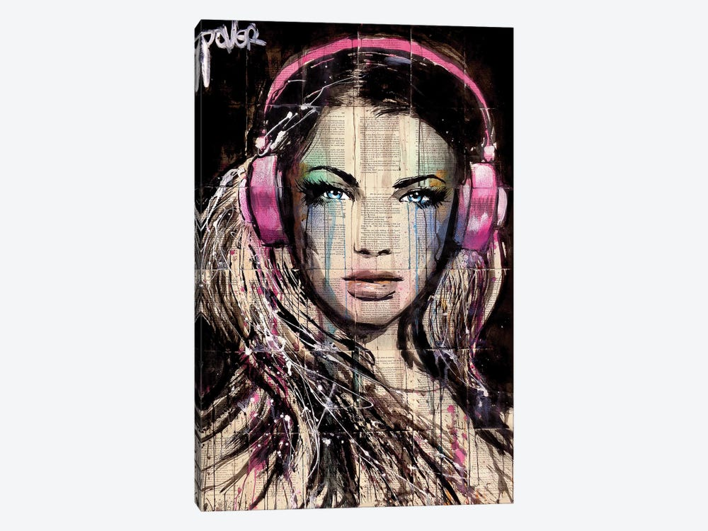 DJ by Loui Jover 1-piece Canvas Print