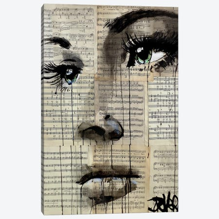 Shore Canvas Print #LJR118} by Loui Jover Art Print