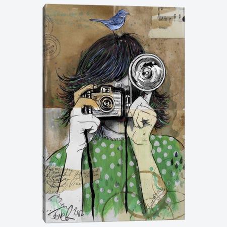 Little Moments Canvas Print #LJR11} by Loui Jover Art Print