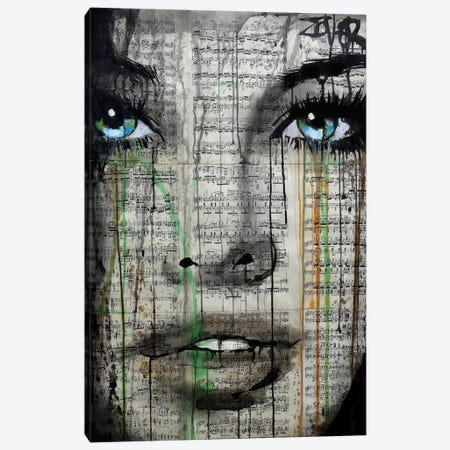 Forever Young Canvas Print #LJR120} by Loui Jover Canvas Art