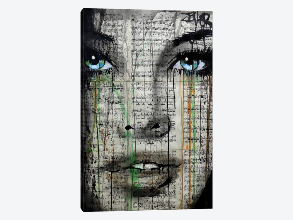 Forever Young by Loui Jover 1-piece Canvas Art