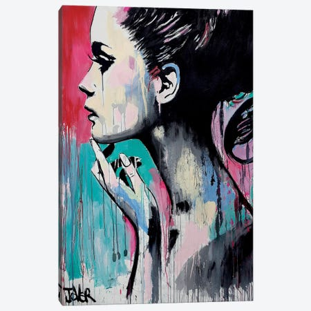 Perhaps Again Canvas Print #LJR121} by Loui Jover Canvas Wall Art