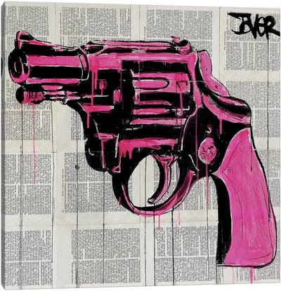 Pop Gun Canvas Art Print