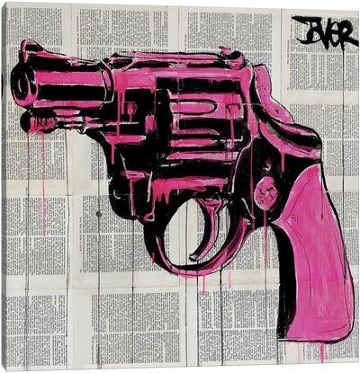 Pop Gun Canvas Art Print
