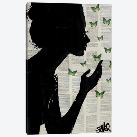 Simplicity II Canvas Print #LJR123} by Loui Jover Canvas Art
