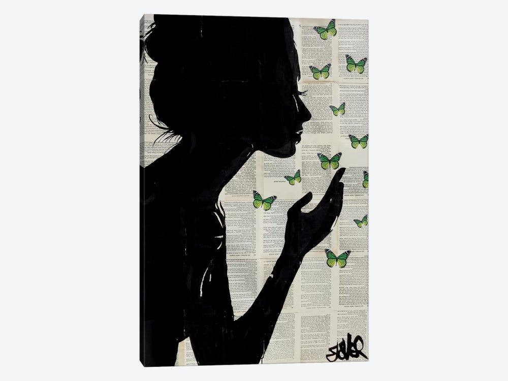 Simplicity II by Loui Jover 1-piece Canvas Print