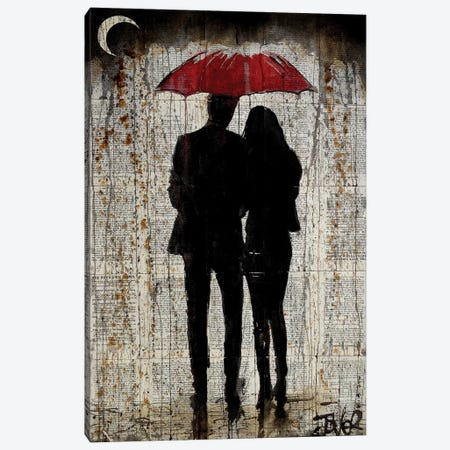 Some Rainy Day Canvas Print #LJR124} by Loui Jover Canvas Print