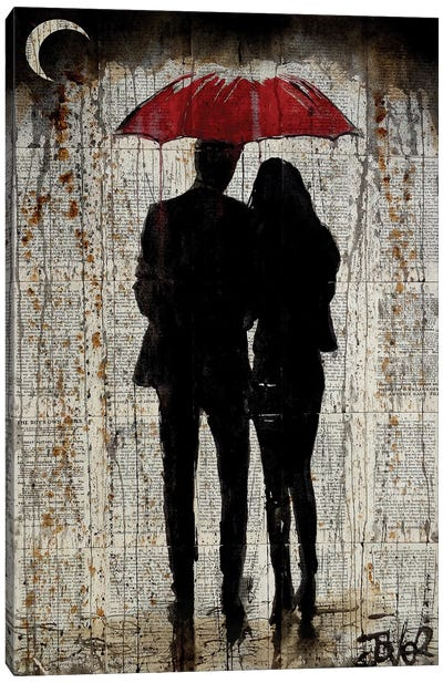 Some Rainy Day Canvas Art Print