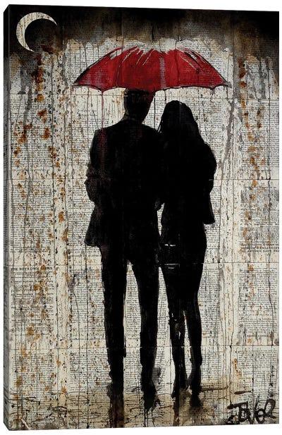 Some Rainy Day Canvas Art Print