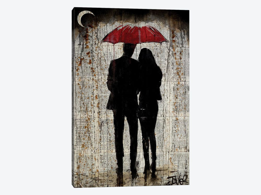 Some Rainy Day by Loui Jover 1-piece Canvas Art