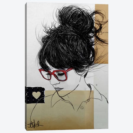 Sometimes You Fly Canvas Print #LJR125} by Loui Jover Canvas Art Print