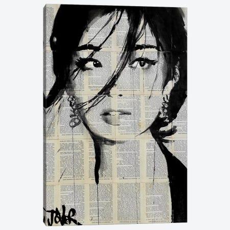 Urchin Canvas Print #LJR128} by Loui Jover Canvas Artwork
