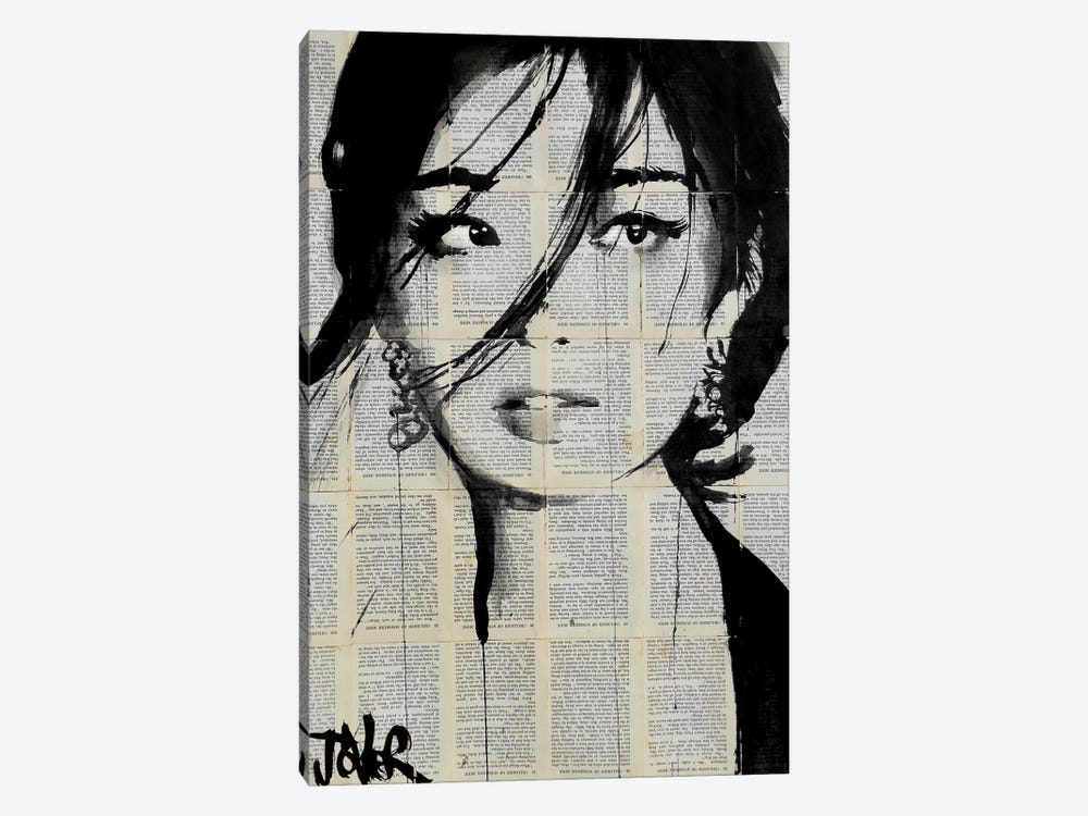 Urchin by Loui Jover 1-piece Canvas Artwork