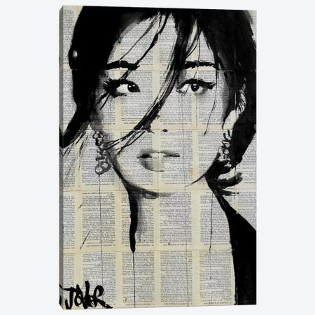 Urchin Canvas Print #LJR128} by Loui Jover Canvas Artwork