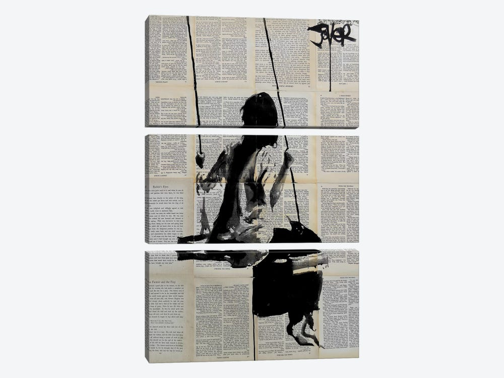 Years And Years by Loui Jover 3-piece Canvas Art Print