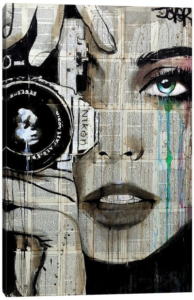 Zoom Canvas Print #LJR131