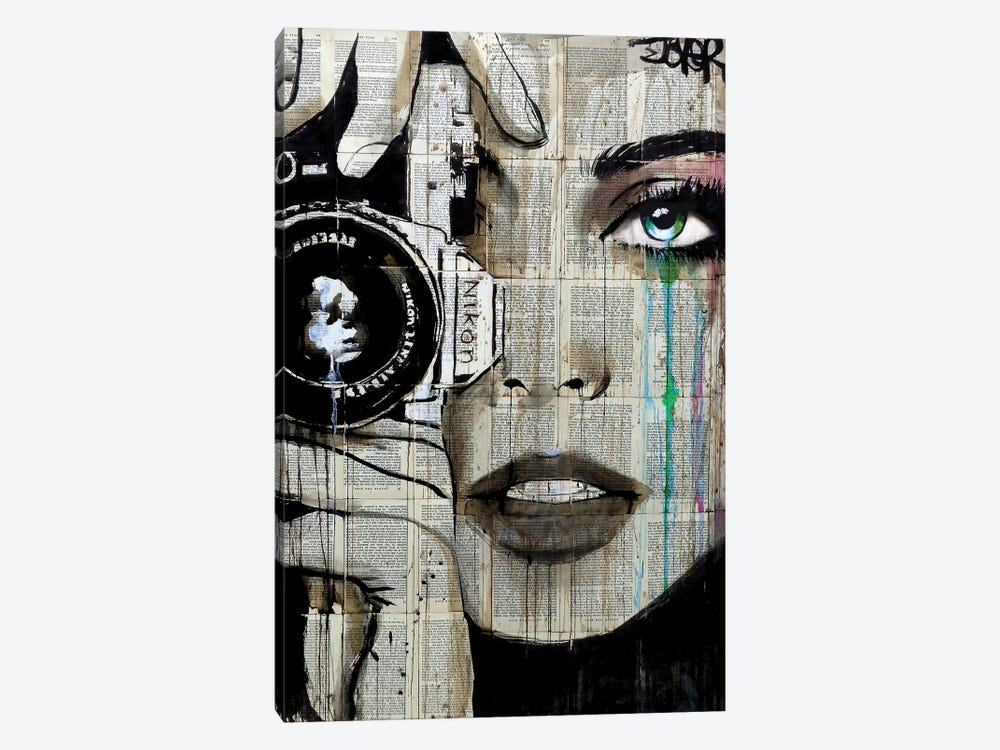 Zoom by Loui Jover 1-piece Canvas Art
