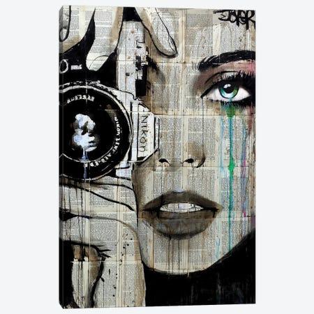 Zoom Canvas Print #LJR131} by Loui Jover Art Print