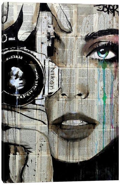 Zoom Canvas Art Print