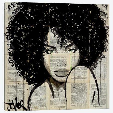 Angel Canvas Print #LJR132} by Loui Jover Art Print