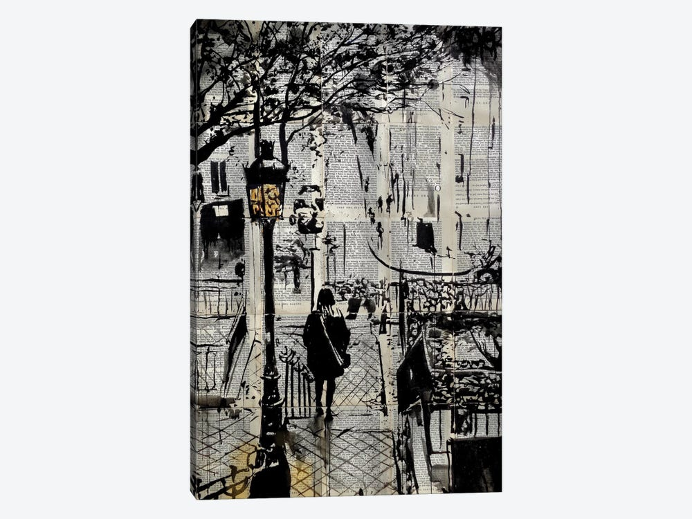 Arrondissement by Loui Jover 1-piece Canvas Art