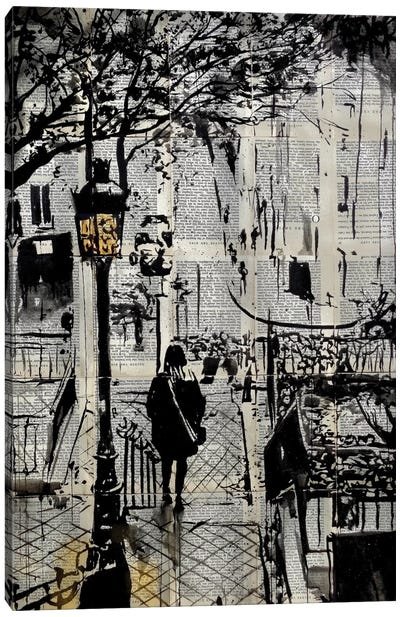Arrondissement Canvas Art Print