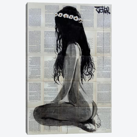 Daisy Chain Canvas Print #LJR134} by Loui Jover Canvas Artwork