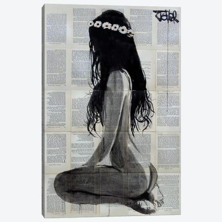 Daisy Chain Canvas Print #LJR134} by Loui Jover Canvas Artwork