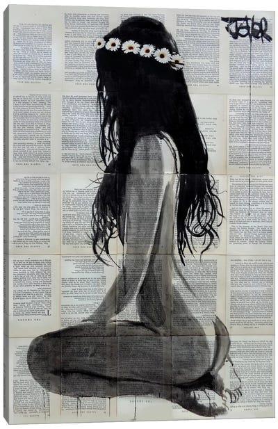 Daisy Chain Canvas Art Print
