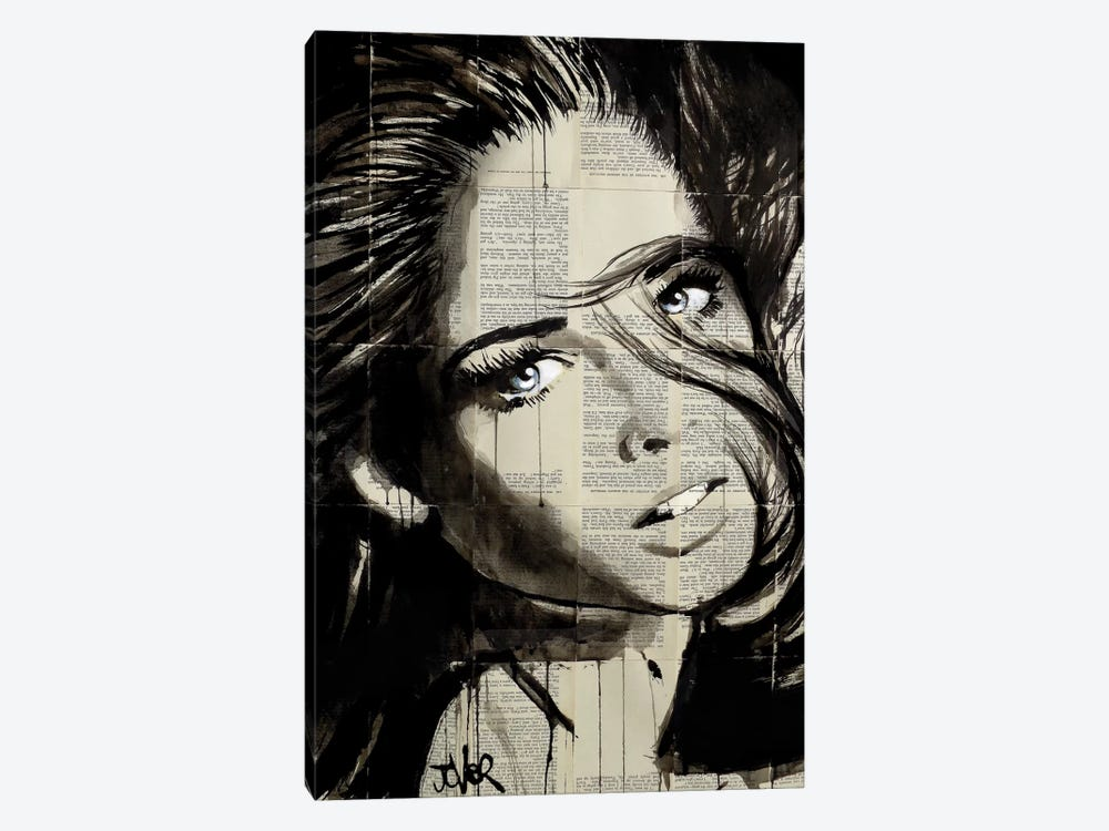Flip by Loui Jover 1-piece Canvas Artwork
