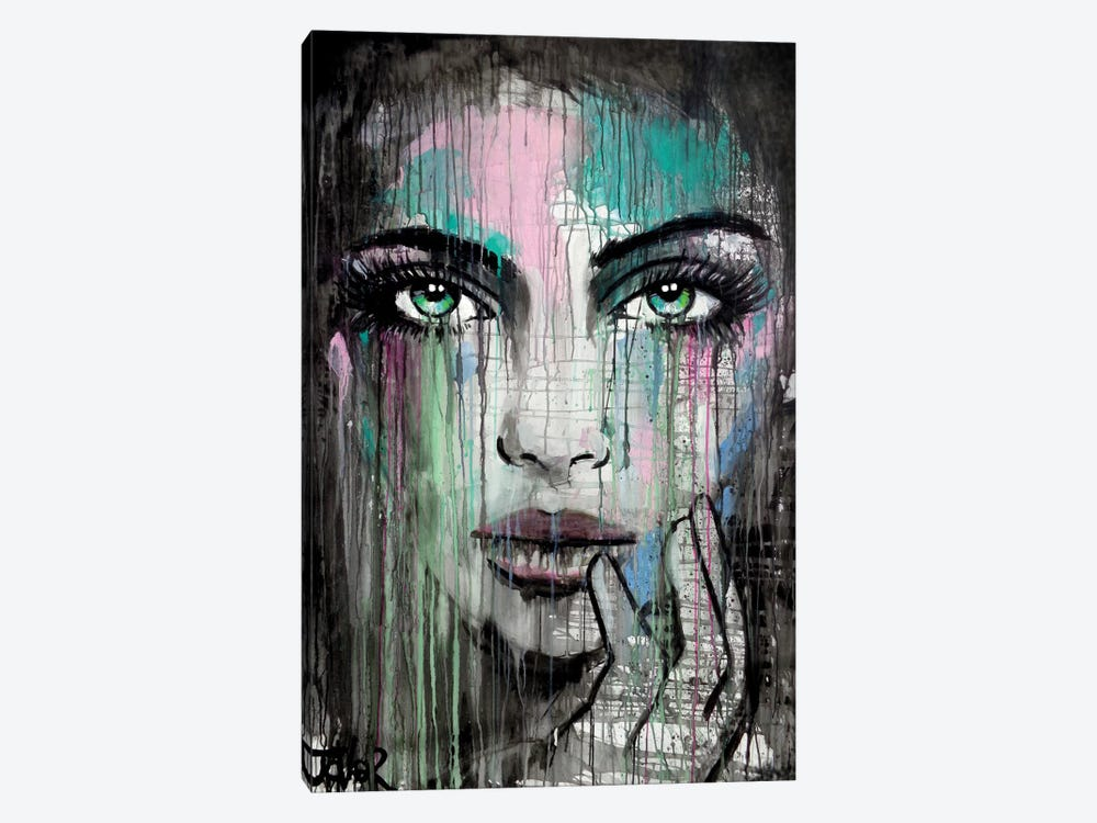 New Muse by Loui Jover 1-piece Canvas Art Print