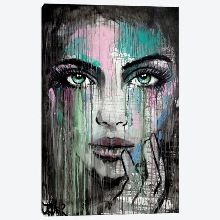 New Muse Canvas Print #LJR136} by Loui Jover Canvas Wall Art