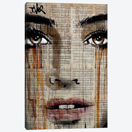 New Prelude Canvas Print #LJR137} by Loui Jover Canvas Art