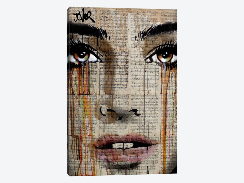 New Prelude by Loui Jover 1-piece Canvas Artwork