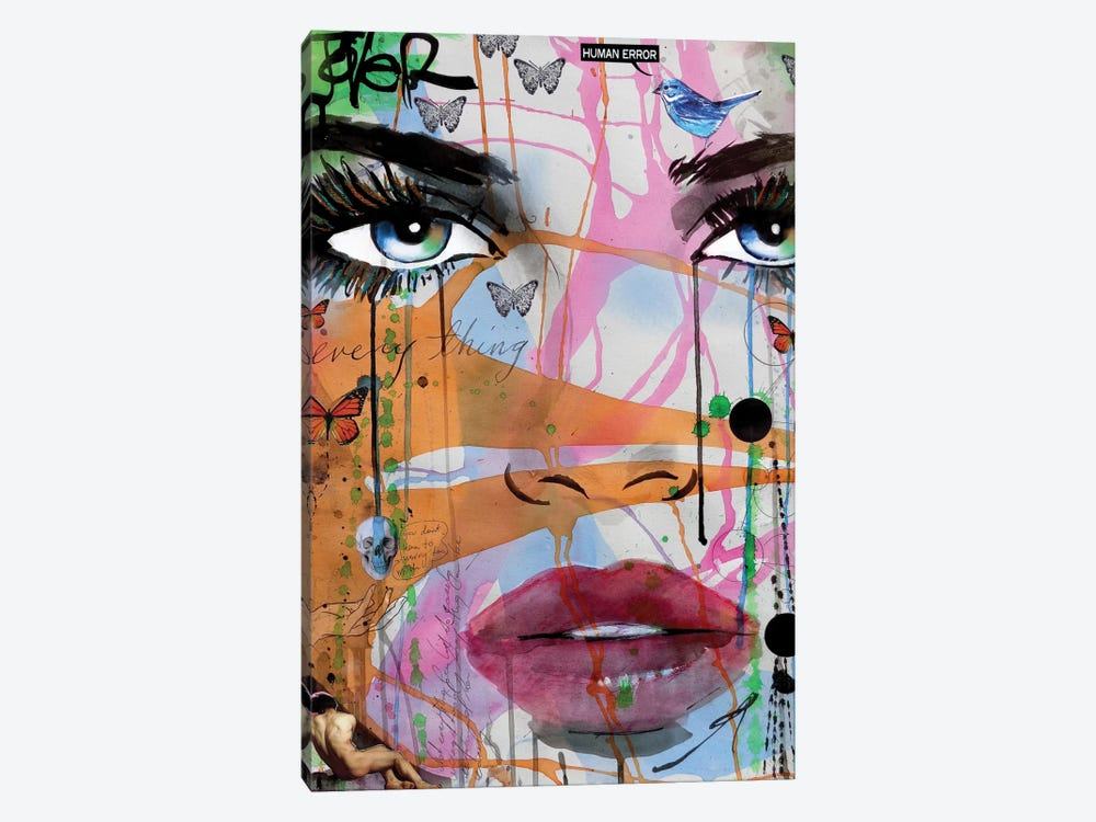 Not Everything by Loui Jover 1-piece Canvas Art Print