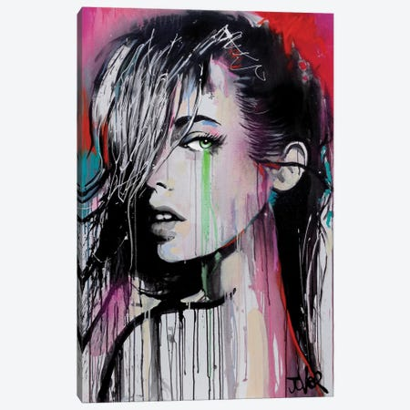 Now Or Never Again Canvas Print #LJR139} by Loui Jover Canvas Art Print