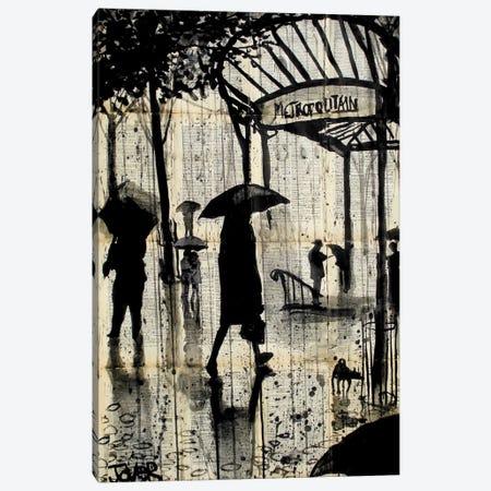 Metropolitain Canvas Print #LJR13} by Loui Jover Art Print