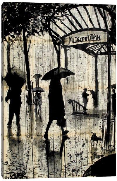 Metropolitain Canvas Art Print
