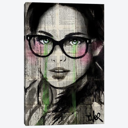 Prudence II Canvas Print #LJR140} by Loui Jover Canvas Art