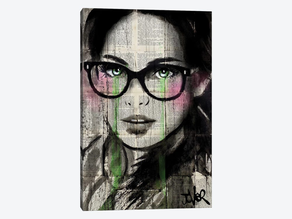 Prudence II by Loui Jover 1-piece Canvas Wall Art