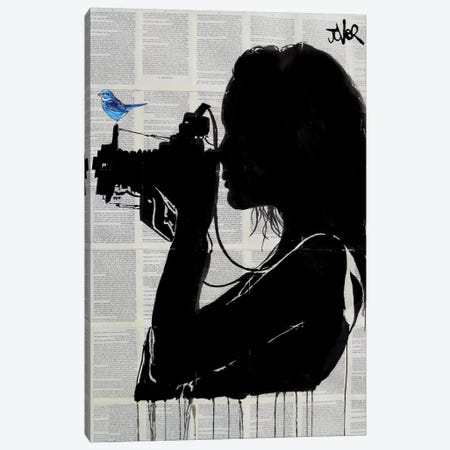 The Vintage Shooter Canvas Print #LJR143} by Loui Jover Canvas Artwork