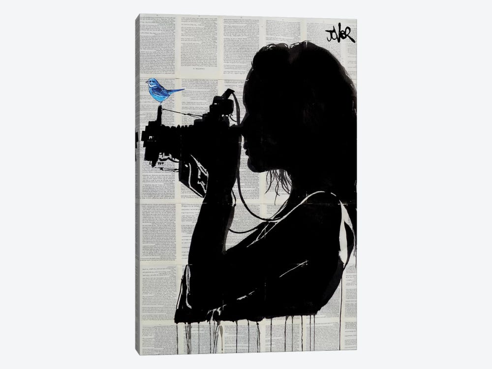 The Vintage Shooter by Loui Jover 1-piece Canvas Art Print
