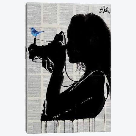 The Vintage Shooter Canvas Print #LJR143} by Loui Jover Canvas Artwork