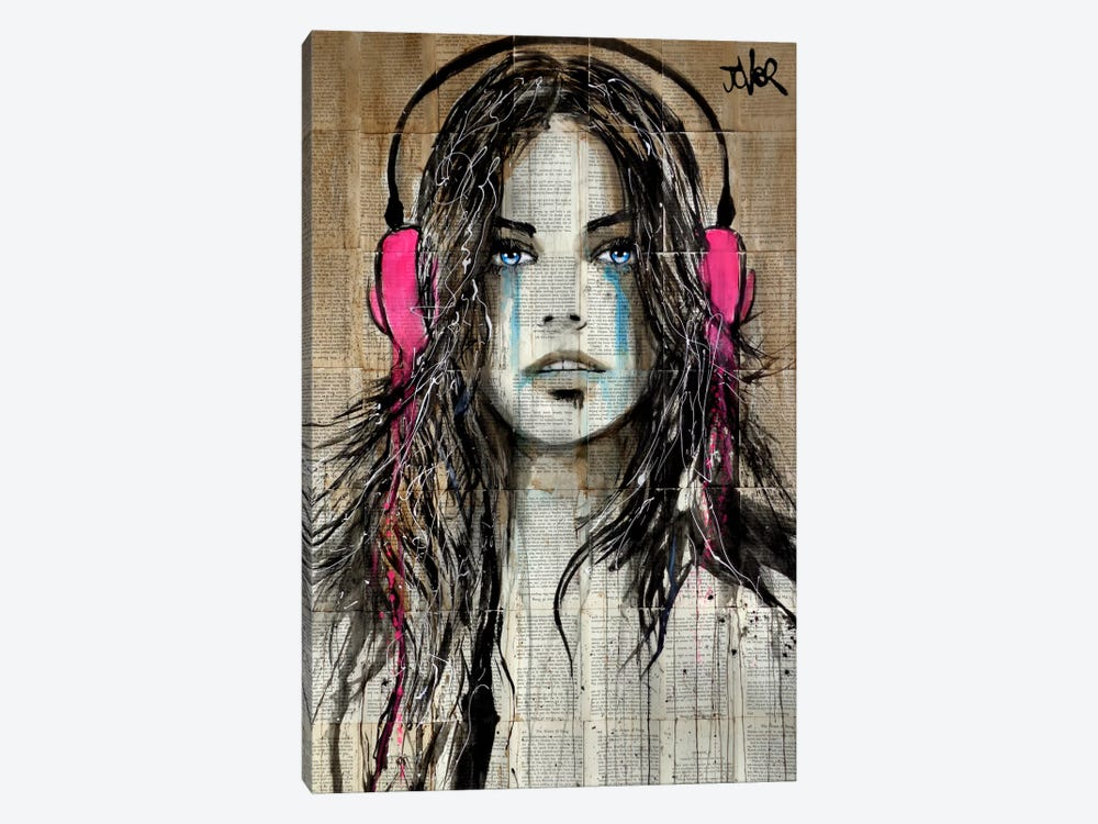 Wired by Loui Jover 1-piece Canvas Art Print
