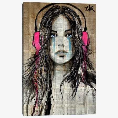 Wired Canvas Print #LJR145} by Loui Jover Canvas Art Print