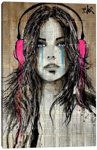 Wired Canvas Print #LJR145