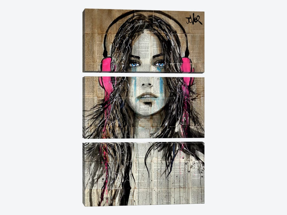 Wired by Loui Jover 3-piece Canvas Art Print
