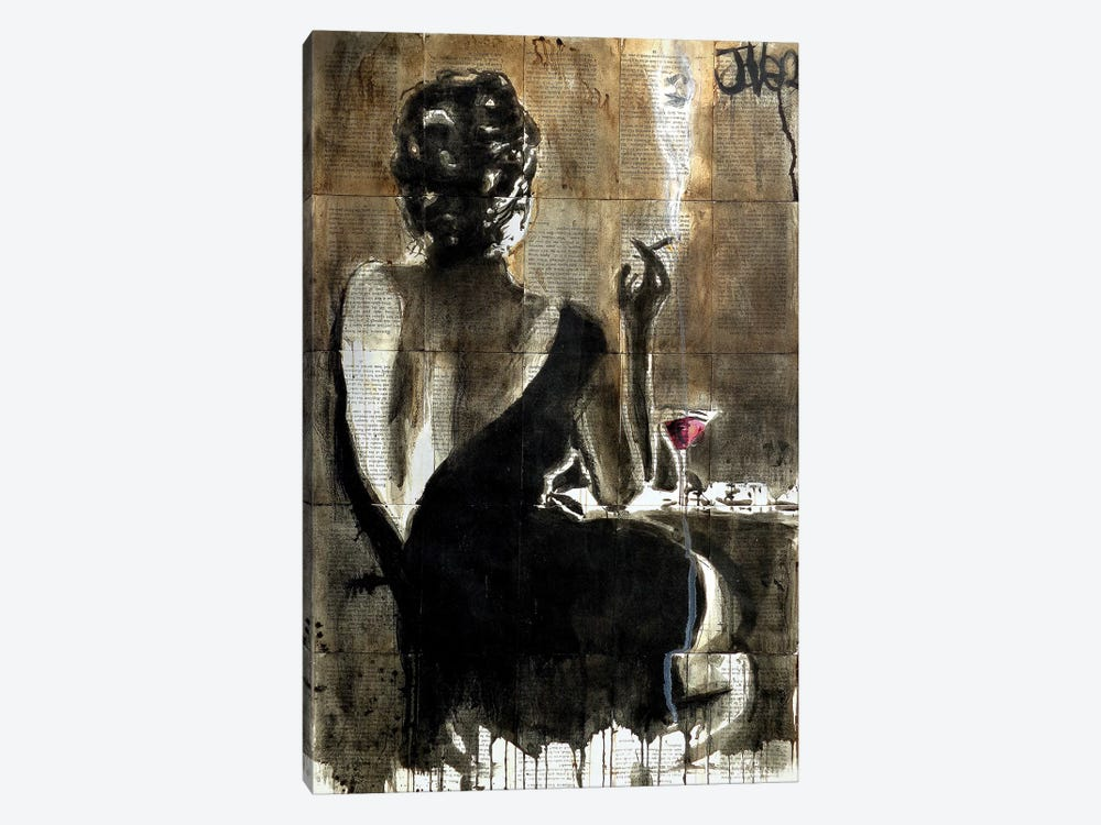 Cocktail by Loui Jover 1-piece Art Print